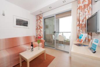 Dvokrevetna soba superior s balkonom, jednokrevetna uporaba, noćenje s doručkom