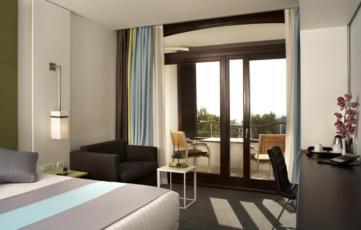 Dvokrevetna soba sa noćenjem i doručkom, park strana, balkon - Krilo, Superior