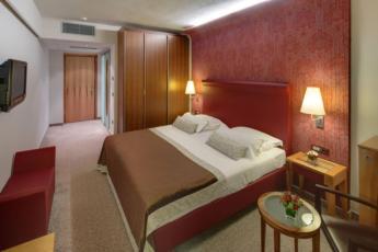 Dvokrevetna soba, premium, strana more sa balkonom i polupansionom